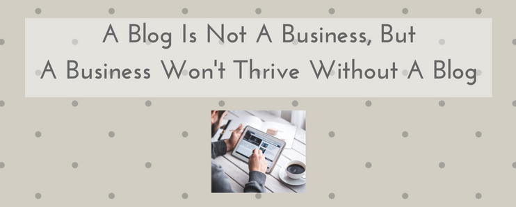 write blog business